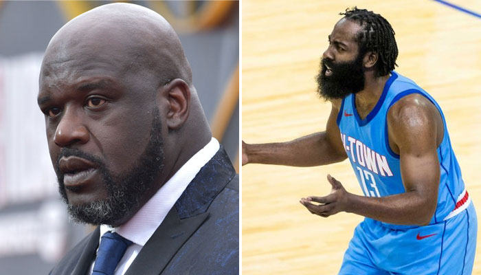 Shaquille O'Neal a détruit James Harden après son transfert à Brooklyn NBA