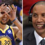 NBA – Reggie Miller surprend Steph Curry après son record, et lui présente son successeur !