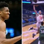 NBA – Giannis détruit sur un incroyable poster !