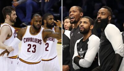 NBA – Kyrie révèle ce que Harden et KD peuvent apprendre de son Big 3 avec LeBron et Love