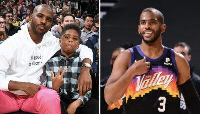 NBA – Les SMS géniaux de Chris Paul avec son fils révélés