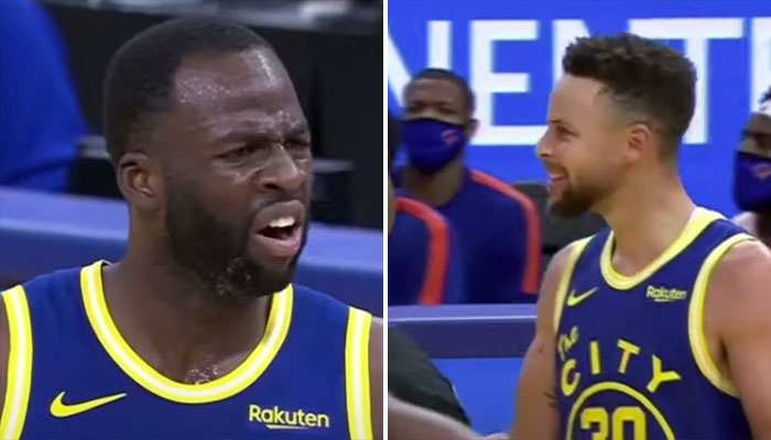 Steph Curry et les Warriors en colère après l'éjection polémique de Draymond Green NBA