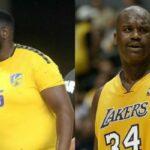 NBA – Le « Shaq du handball » Gauthier Mvumbi fait le buzz, Shaq lui-même réagit !