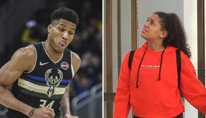 La superstar NBA des Milwaukee Bucks, Giannis Antetokounmpo, choqué devant le dernier message incendiaire posté par sa petite amie, Mariah Danae Riddlesprigger, sur les réseaux