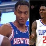 NBA – La phrase géniale de la pépite des Knicks à Lou Williams