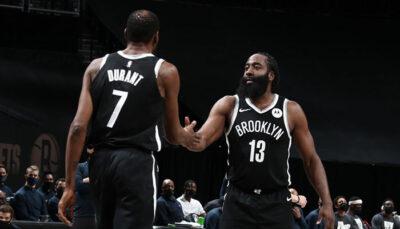 NBA – Admiratif, Harden lâche un énorme compliment sur KD