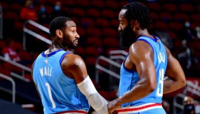 NBA – Le duo James Harden/John Wall cartonne pour ses débuts !