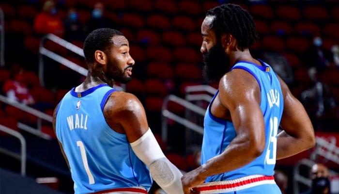 Le duo James Harden/John Wall cartonnent pour ses débuts ! NBA