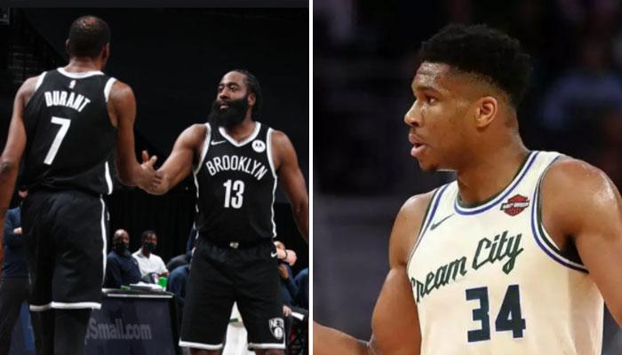 Giannis honnête sur le duo James Harden/Kevin Durant NBA