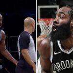 NBA – James Harden touche les fesses d'un arbitre, la toile s'enflamme
