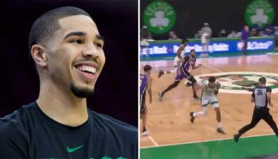 NBA – La passe magistrale réussie par Jayson Tatum contre les Lakers