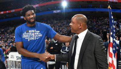 NBA – Les 2 légendes dont Joel Embiid est un mix selon Doc Rivers
