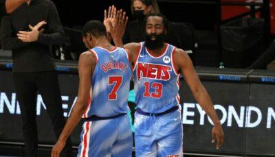 NBA – Stratosphériques, Harden et KD font sauter les records pour leur première !