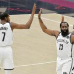 NBA – Première victoire pour le Big 3 des Nets, Harden se rate !
