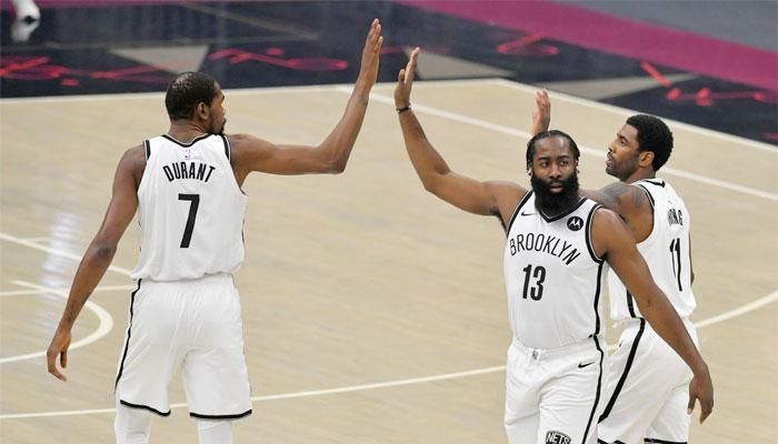Près de 100 points et 150 minutes, première hors normes pour le Big Three des Nets ! NBA