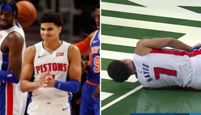 NBA – Inquiétude après la nouvelle blessure de Killian Hayes