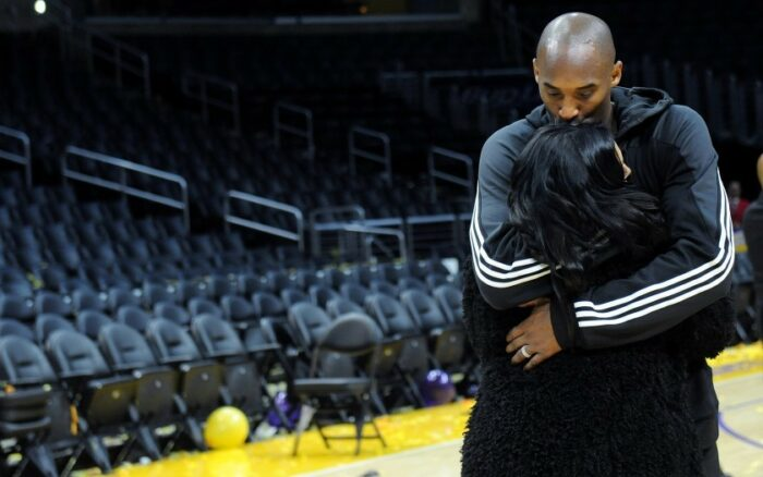 Kobe et Vanessa Bryant au Staples Center