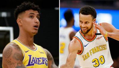 NBA – L'énorme compliment de Kyle Kuzma à Steph Curry