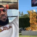NBA – Le gros kiff de LeBron James ce samedi