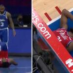 NBA – LeBron se prend une flagrante après un geste inapproprié sur Embiid !