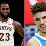 NBA – LeBron réagit au nouveau record de LaMelo Ball !