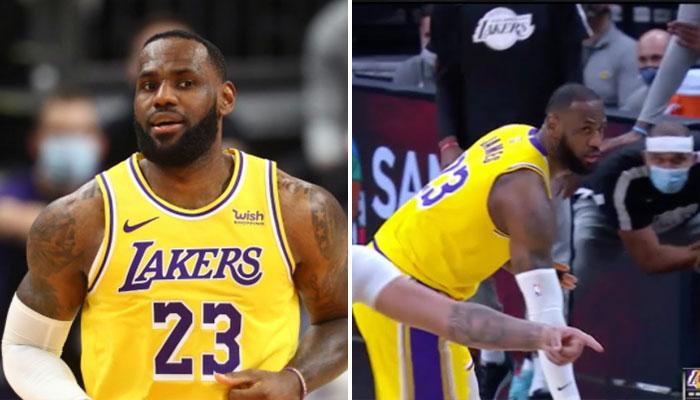 Clutch, LeBron trash-talke son adversaire et se venge ! NBA
