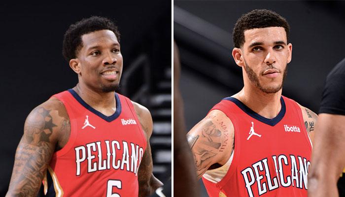 Les deux arrières NBA des New Orleans Pelicans, Eric Bledsoe (gauche) et Lonzo Ball (droite), ont livré une performance «phénoménale» face aux Toronto Raptors, dixit leur entraineur Stan Van Gundy