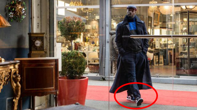 Omar Sy Lupin Air Jordan 1 Michael Jordan NBA