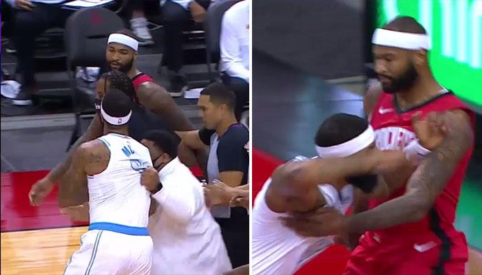 Bagarre entre Markieff Morris et DeMarcus Cousins NBA
