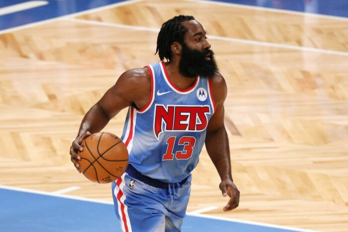James Harden NBA aux brooklyn nets premier match