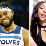 NBA – La copine de KAT affole les fans sur Tik Tok, il réagit !