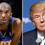NBA – Le plan de Donald Trump pour honorer Kobe Bryant et plusieurs grands noms