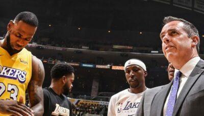 NBA – LeBron réagit au gros changement dans la rotation des Lakers