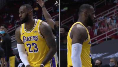 NBA – Le joueur qui a trash-talké LeBron juste avant son tir insolent