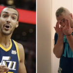 NBA – Rudy Gobert rend fou les Américains avec sa reprise de JUL