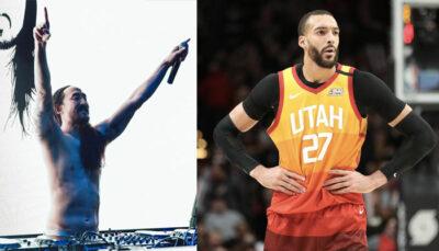 NBA – Steve Aoki répond à Rudy Gobert, et fait un gros compliment !