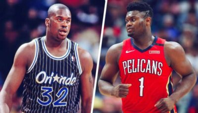 NBA – Zion Williamson refuse cash la comparaison avec Shaq