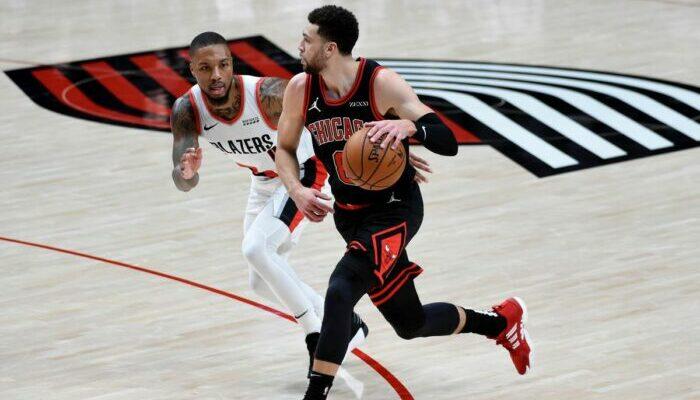 Zach LaVine et les Bulls crient au scandale après le game winner de Lillard