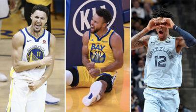 NBA – Klay, Ja Morant… les joueurs réagissent à l'énorme carton de Steph Curry !