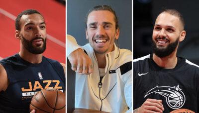NBA – Le gros coup d'Antoine Griezmann avec Rudy Gobert et Evan Fournier