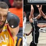 NBA – Rudy Gobert écrabouillé par Jarrett Allen dans la nuit