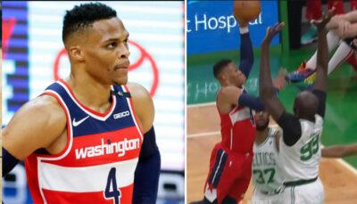 NBA – Tacko Fall détruit un Russell Wesbtrook en perdition !