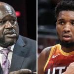 NBA – Shaq cartonne Donovan Mitchell en live… sa réponse provoque un gros malaise