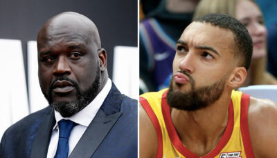 NBA – Shaq envoie encore un tacle à Gobert en plein direct !