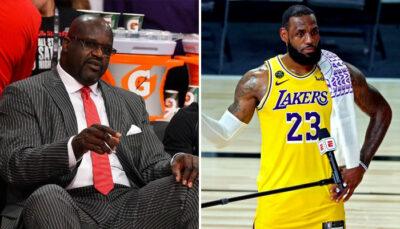 LeBron réagit cash aux propos de Shaq envers Mitchell NBA