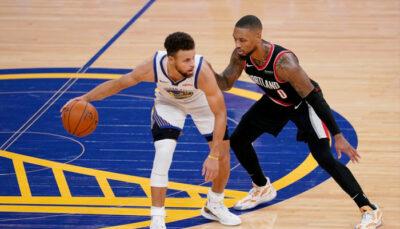 NBA – La géniale séquence entre Steph Curry et Damian Lillard