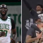 NBA – Tacko Fall plante un missile WTF longue distance, le banc en furie !