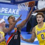 NBA – Dans sa folle nuit, Théo Maledon a claqué un record all-time !