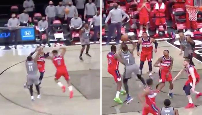 Les superstars des Brooklyn Nets, Kyrie Irving et Kevin Durant, ont manqué deux gros shoots dans les ultimes secondes du match NBA face aux Washington Wizards
