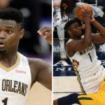 NBA – En plein air, Zion détruit son adversaire !